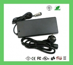 24v 36v 48v 2a Lead acid battery charger、electric battery charger with XLR Aviation DC Jack