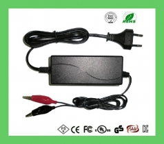 Universal desktop battery charger dc 12.6v 1a 2a 3a power adapter